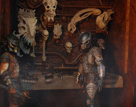 predators  trophy wall diorama discontinued
