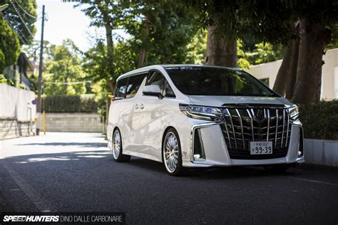 Toyota Vellfire 4k Wallpapers by A Japanese Vanning Masterclass Speedhunters
