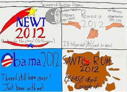Cartoon Slogans Campaign Pablo Scrapped Ramirez Graphic