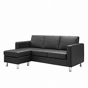 15 collection of apartment size sofas and sectionals for Small sectional sofa measurements