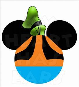 Mickey Mouse dressed as Goofy INSTANT DOWNLOAD digital ...