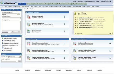 Service Desk Software Features by Filegets Adventnet Manageengine Servicedesk Plus