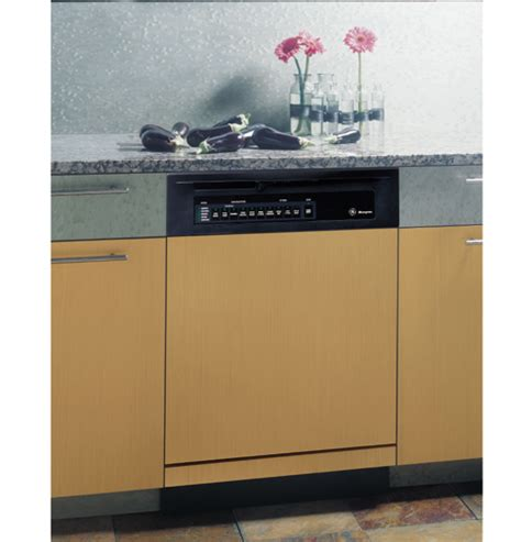 ge monogram american design black dishwasher  permatuf interior zbddbb ge appliances