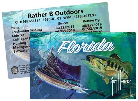 florida licenses fishing license regulations lobster spiny cards stamps