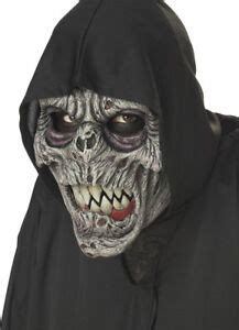 Animotion Night Fiend Animated Costume Mask Adult One Size ...