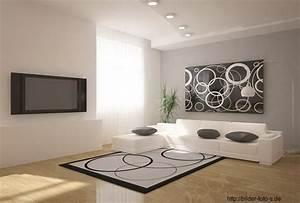 Wandgestaltung Ideen Wohnzimmer : ideen wohnzimmer wandgestaltung ~ Yasmunasinghe.com Haus und Dekorationen