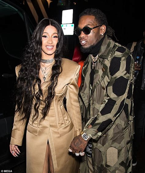 cardi b tommy song cardi b seems to tell fiance offset to be careful as she