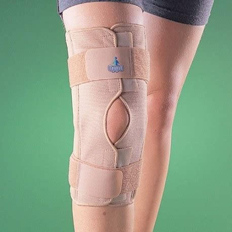 oppo support knee stabilizer hinged large