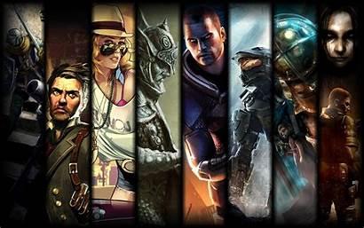 Souls Dark Bioshock Halo Skyrim Effect Infinite