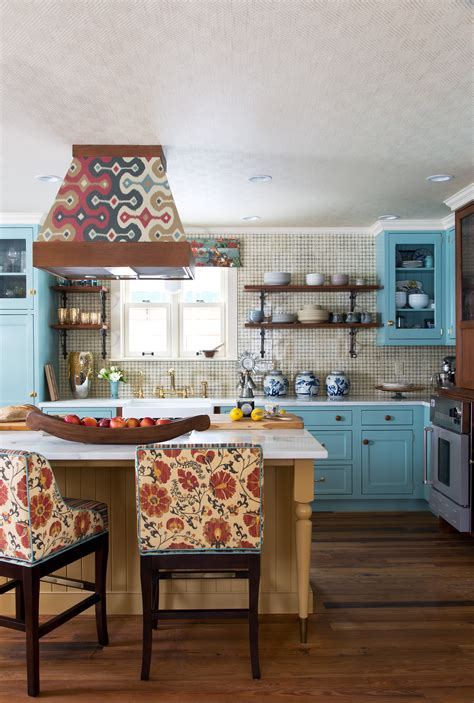 eclectic boho mountain home kitchen by andrea schumacher