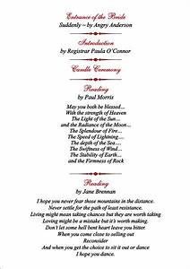 brambles wedding stationery order of service pages With wedding blessing order of service template