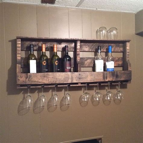 how to build a wine cabinet how to make a pallet wine rack hometalk