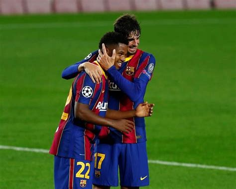 Barcelona easily beats Ferencváros 5-1 in Champions League ...