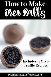 How to Make Oreo Balls + 17 Oreo Truffles Recipes
