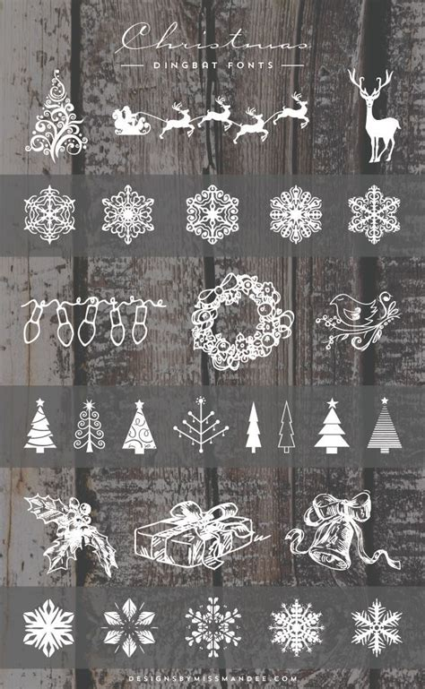 christmas dingbat fonts dingbat fonts christmas fonts