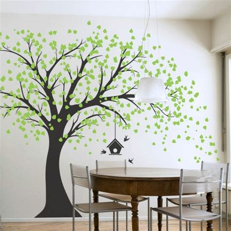 sticker arbre chambre b stickers arbre chambre de séjour decoration murale
