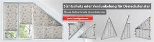Rollo Selber Nähen : plissee dreiecksfenster g nstig livoneo ~ Whattoseeinmadrid.com Haus und Dekorationen