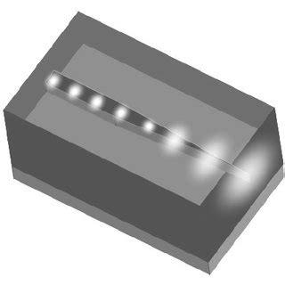 Fabricated Sensor Devices Folded Cavity Mach Zehnder