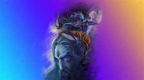 Shiva Animated Wallpaper Hd - wallpaper lord shiva aghori hd creative graphics 12691