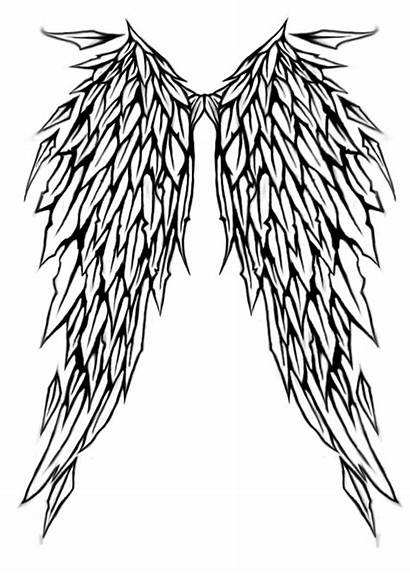 Wings Angel Tattoo Deviantart Clipart Clipartbest Wing