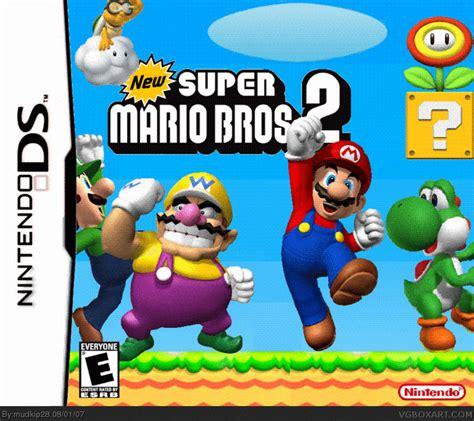New Super Mario Bros 2 Nintendo Ds Box Art Cover By Mudkip28