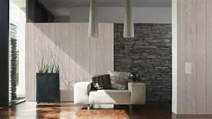 Wandgestaltung Mit Steinoptik : tapete in holzoptik 24 effektvolle wandgestaltungsideen ~ Markanthonyermac.com Haus und Dekorationen
