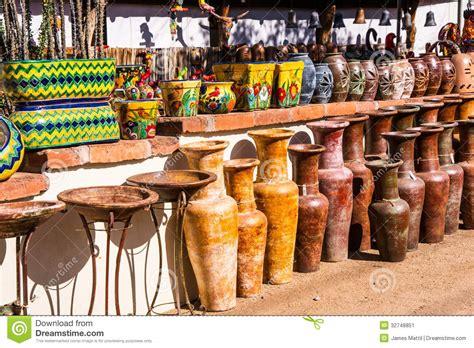pottery store arizona stock photos image 17402853 mexican ceramics on display stock image image 32748851