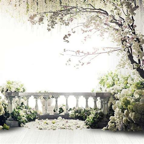cm ft flowers photo vinyl background trees