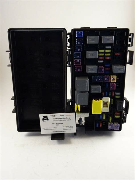 Jeep Jk Fuse Box by Fuse Relay Distribution Box Jeep Wrangler Jk 2008