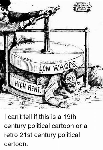 Wages Low Rent Cartoon Meme Cant Collect
