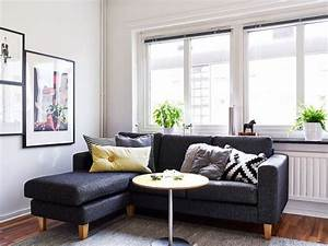 A 25 square meter studio with a very organized and chic ...