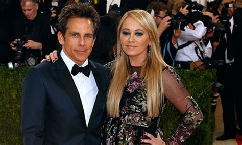 actors ben stiller  christine taylor announce marriage