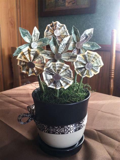 ive  origami money flowers money flowers