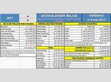 Eeuwigdurende kalender – Bert De Greef