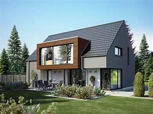 Fertighaus Anbau An Massivhaus : die besten 25 satteldach modern ideen auf pinterest ~ Lizthompson.info Haus und Dekorationen