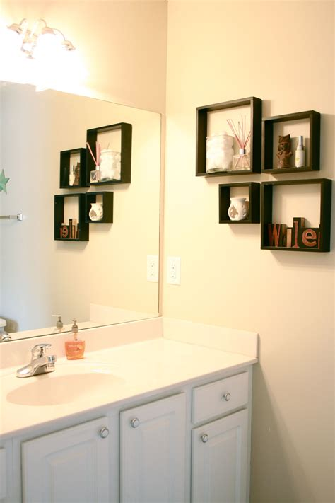 bathroom wall ideas bathroom wall decor ideas in trendy diy bathroom wall