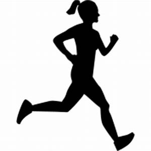 13 Funny Running Silhouette Vector PNG Images - Running ...