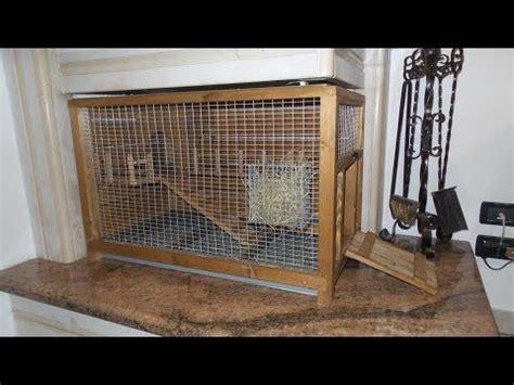 costruire gabbia coniglio gabbia voliera fai da te quaglie doovi