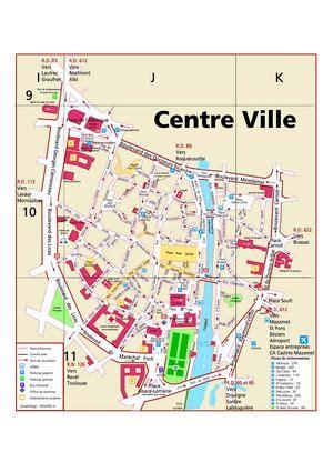 Mairie Ville De Plan De Calaméo Plan Castres Centre Ville