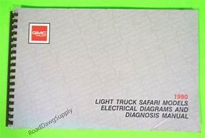 1990 Gmc Safari Van Electrical Wiring Diagrams Service