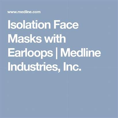 Medline Face Masks Isolation