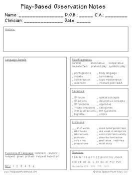 preschool slp evaluation forms play based assessment by 376   original 2020623 4