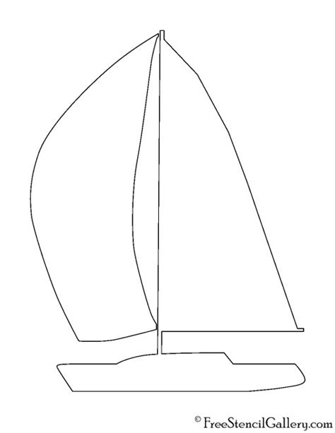 Sailboat Pumpkin by Sailboat Silhouette Stencil Free Stencil Gallery
