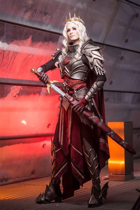 visenya targaryen cosplay female armor cosplay