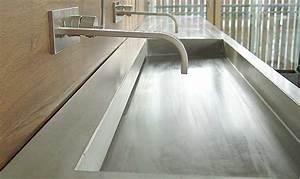 Beton In Form : waschtisch aus beton venosa form in funktion ~ Markanthonyermac.com Haus und Dekorationen