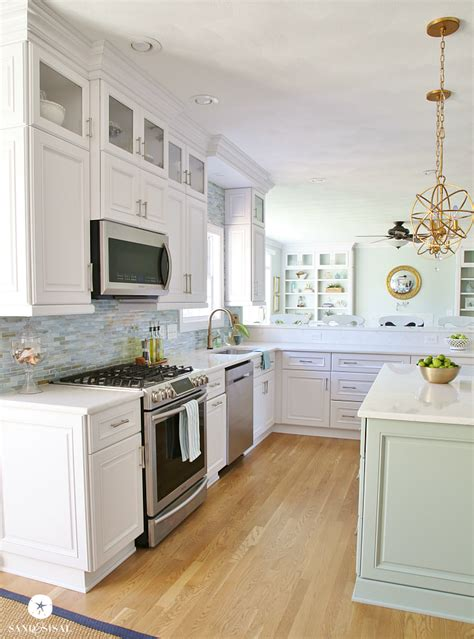 Coastal Kitchen Ideas by Coastal Kitchen Makeover Home Projects We