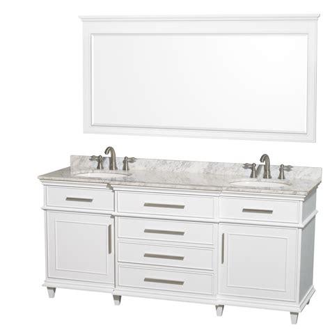 70 inch bathroom vanity mirror wyndham collection wcv171772dwhcmunrm70 berkeley