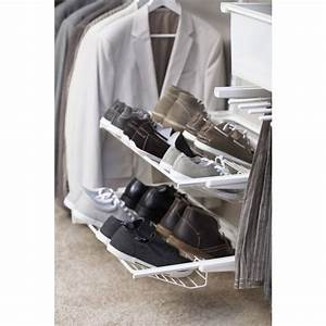 Porte Chaussures Ikea : porte chaussures 2 rang es pour syst me suspendu elfa bricozor ~ Teatrodelosmanantiales.com Idées de Décoration