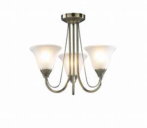 Swan low ceiling light fitting
