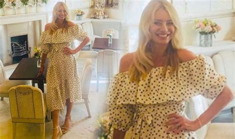Tess Daly sends fans wild with polka dot dress snap after ...